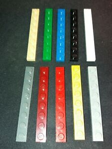 Lego 3460 FLAT PLATE 1 X 8 (Pack of 6) select colour & amount