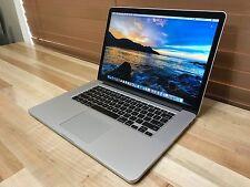 """15"""" MacBook Pro Retina - Late 2013 - 2.0Ghz i7 - 8GB - 256GB SSD - New Display"""