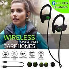 2018 Wireless Sweatproof Bluetooth V4.1+EDR Headphones Earphones Headset Sports