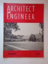 Dec 1954 Architect and Engineer San Francisco CA West Coast Portland Oregon