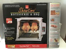 RONCO SHOWTIME ROTISSERIE BBQ PLATINUM MODEL 5000 WITH ACCESSORIES NEW OLD STOCK