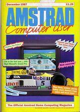 AMSTRAD computer (Acu) Magazine-Dicembre 1987-ECCELLENTE