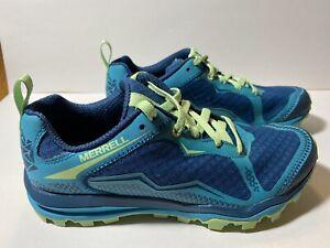 Merrell Womens Unifly Sneakers Blue Green Size 5.5