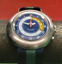 VINTAGE Memosail YACHT REGATA conto alla rovescia Timer meccanico svizzero 46mm intorno al 72