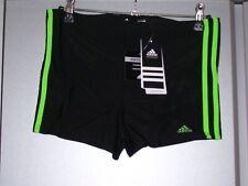 adidas Performance Infinitex 3 Stripes Boxer Badeanzug jungen 176 schwarz