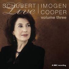 Imogen Cooper, F. Schubert - Live 3 [New CD] Slim Pack