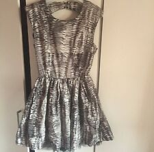 Oh My Love Dress From TOPSHOP Skater Backless Dress. Size M