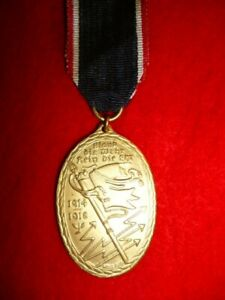 Germany WW1 - Commemorative War Medal 1914/1918 of the Kyffhäuser Union