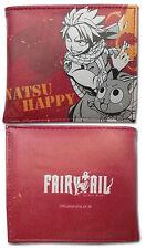 *NEW* Fairy Tail Natsu & Happy Boy Red Bifold Wallet