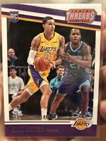2017-18 Panini Threads #88 Kyle Kuzma Lakers RC Rookie Card