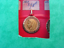 medaille   ancienne plaque or neuve