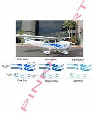Cessna 152 162 172 182  Aircraft graphics airplane decals stickers  piper