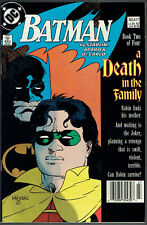 "BATMAN  427  NM-/9.2  -  ""A Death in the Family,"" part 2!"