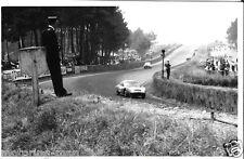 LE MANS 24 HOURS 1959 D B HBR5 PANHARD RENE BARTHOLONI JAEGER PERIOD PHOTOGRAPH