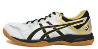 ASICS GEL-ROCKET 9 Men's Badminton Shoes White Indoor Shoes NWT 1071A030-100