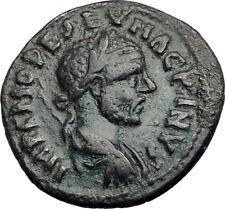 MACRINUS 217AD Parium Parion MYSIA Authentic Ancient Roman Coin GENIUS i65105