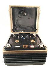 Vintage 1950s Webcor 2110-1 Vacuum Tube Reel-to-Reel Tape Recorder Player WORKS