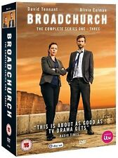 Broadchurch Complete Series 1+2+3 (DVD)~~~Olivia Colman, David Tennant~~~NEW