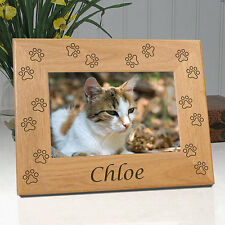 Personalized Cat Memorial Frame - All Cat Paw
