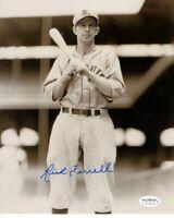 Rick Ferrell Signed Autographed 8X10 Photo St. Louis Browns Pose w/Bat JSA