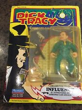 Vintage Dick Tracy Influence Action Figure ~ New ~ Sealed ~ 1990 Playmate Toys
