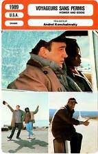 FICHE CINEMA : VOYAGEURS SANS PERMIS - Belushi,Mapp,Waters 1989 Homer And Eddie