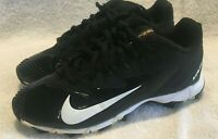 Nike Vapor Ultrafly Keystone 856494-010 Youth Baseball Cleats 2Y Black - Must C