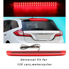 Car Red 20LED 12V Auto High Mount Level Third 3RD Brake Stop Rear Tail Light New