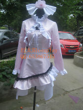 Shugo Chara Tsukiyomi Utau Pink Halloween Dress Cosplay Costume