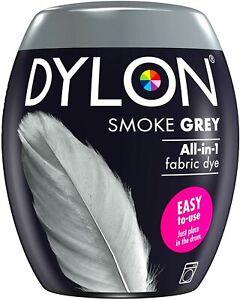 DYLON Washing Machine Fabric Dye Pod for Clothes & Soft Furnishings - Smoke Grey