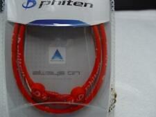 """PHITEN CLASSIC SERIES TITANIUM INFUSED NECKLACE SIZE 22"""" COLOR ALL RED"""