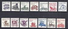 US Transportation Set #1 Complete Set of 14 1981-1984, SC 1897-1908 - MNH*