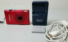 Canon PowerShot ELPH 300 HS 12.1MP Digital Camera - Red *Fine/tested*