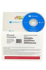 NEW MS Windows 10 Home 64Bit Installation Disc + Activation Sticker Key License