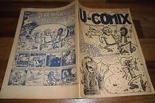 U-COMIX # 4 / UPN Volksverlag 1969-1979 -- mit: Freak Brothers + Harold Hedd