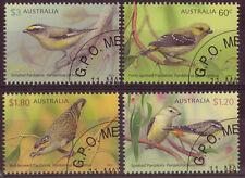 Australia 2013 offerta speciale, uccelli-pardalotes Set di 4 CTO