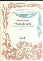 Giuseppe Valentini - 3. Concerto in do für Oboe, Violinem Viola, Kontrabaß, Cemb