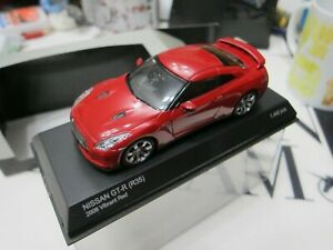 Kyosho - Scale 1/43 - NISSAN GT-R - 2008 R35 - RED - Mini Car - A3