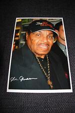 JOE JACKSON signed Autogramm auf 20x30 cm Foto InPerson Vater MICHAEL JACKSON