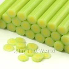 3x Handmade Skinned Melon Canes - Nail Art (cnc31)