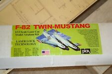 """F-82 TWIN MUSTANG  PICA 51"""" WS PLANS AND BUILD MANUAL"""