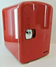 Gourmia Portable Thermelectric 6 Can Mini Fridge Cooler & Warmer - GMF900 (RED)