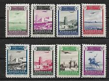 "SPANISH MOROCCO 1949 "" Air Mail "" Complete series 8 New stamps**   (5420)"