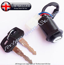 Universal 4 Wire Ignition Switch 2 Keys For Motorcycle Scooter Bike Quad Go-Kart