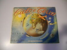 ALBUM FIGURINE CIELO E TERRA QUASI COMPLETO ED. B.E.A. 1956 MENO 42 FIGURINE