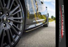 CUP Seitenschweller Ansätze für Ford Focus RS MK3 Coupe Side Skirts Leisten