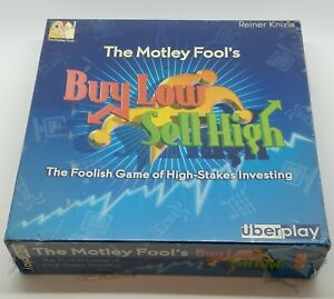 Motley Fool Buy Low Sell High | Investing & Stock Trading Game | Reiner Knizia