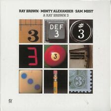 RARE CD JAZZ MINI LP VINYL REPLICA RAY BROWN 3 + MONTY ALEXANDER & SAM MOST