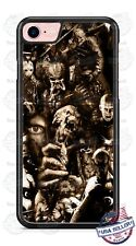 Scary Villain Movie Poster Custom Phone Case For iPhone Samsung S20 LG Google