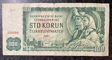 More details for czechoslovakia, sto, hundred,100 korun ceskoslovenskych 1961, ser. r40